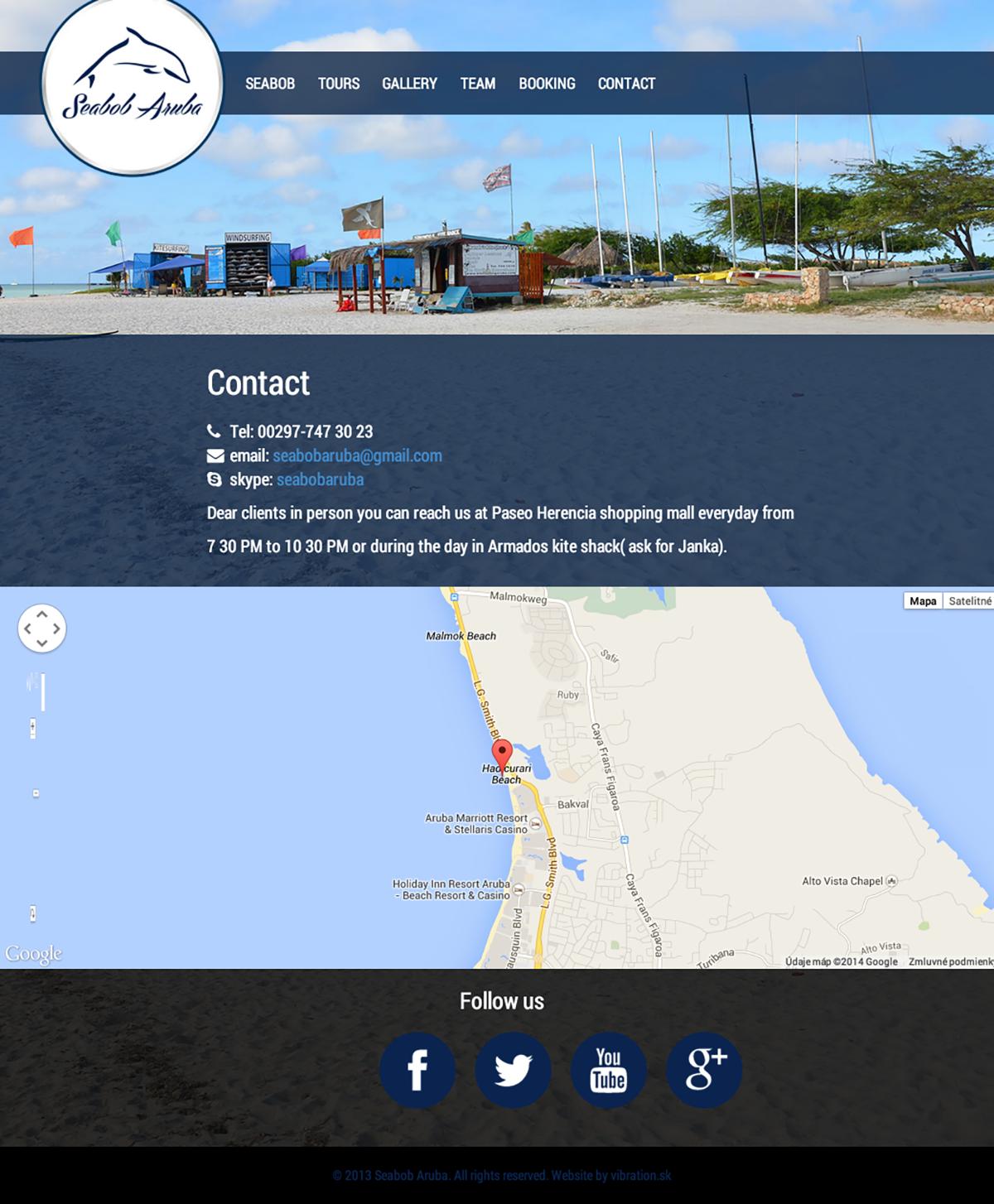 Contact Seabob Aruba