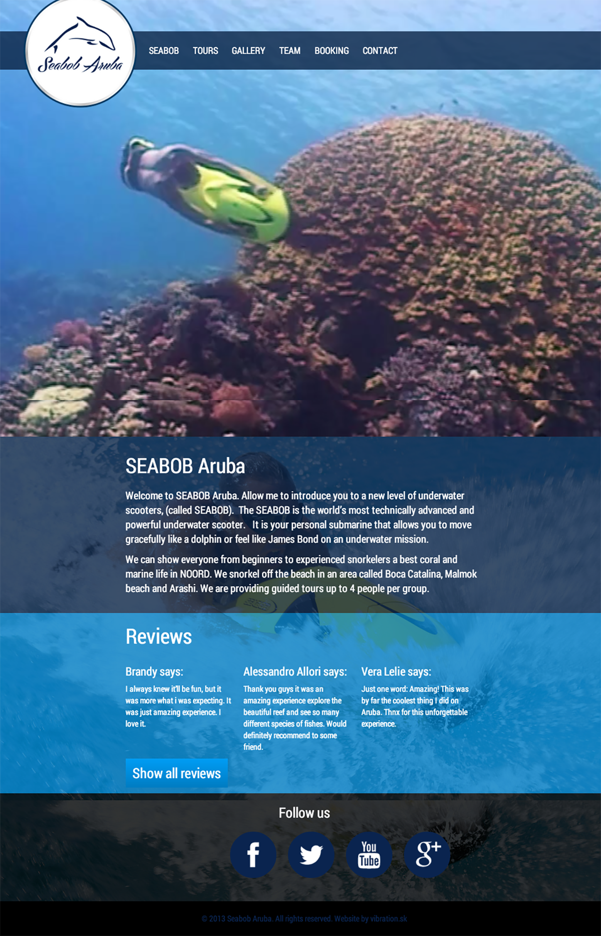 Seabob Aruba tours snorkeling water sportm Aruba activities diving sport