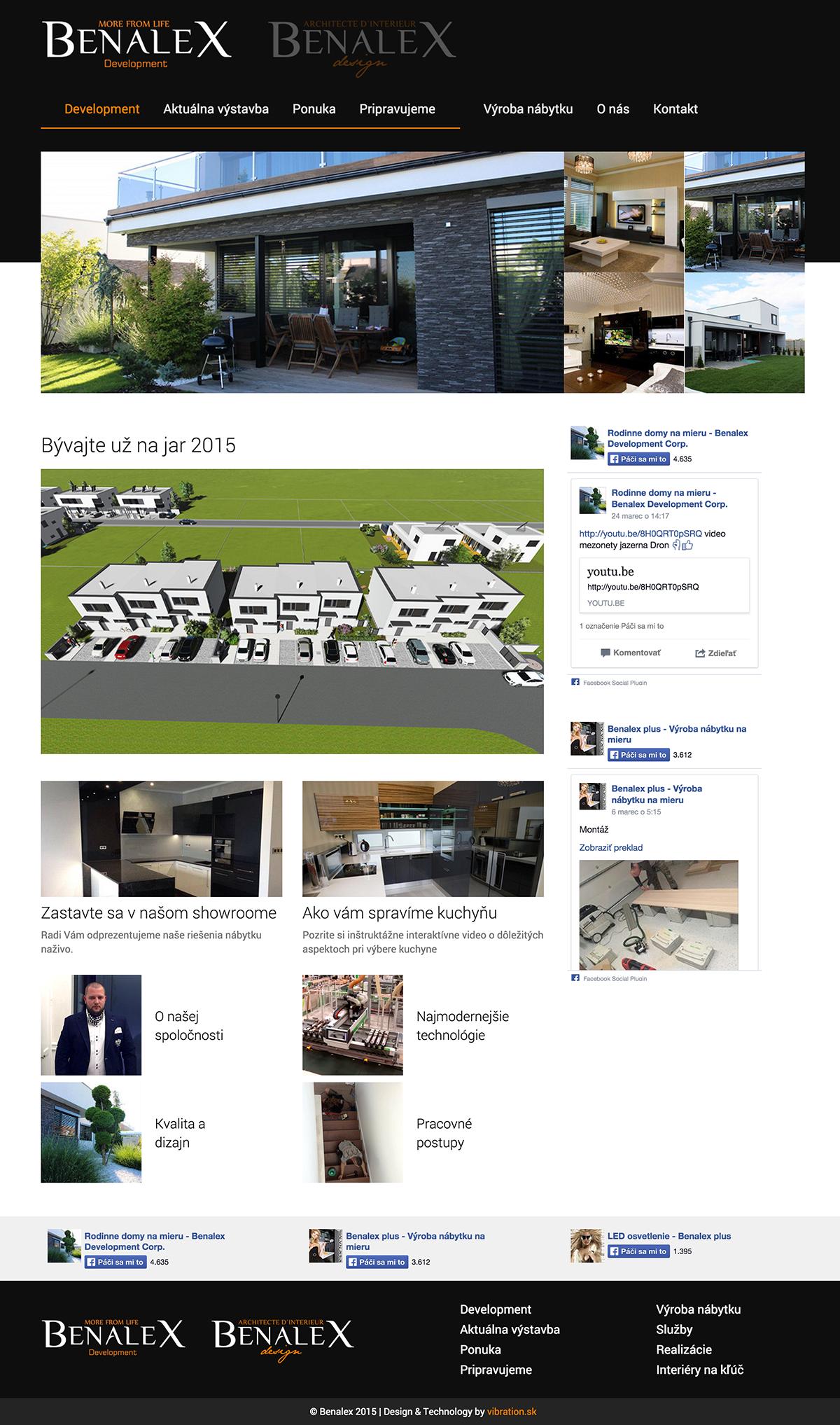Benalex design s.r.o. – výroba nábytku na mieru