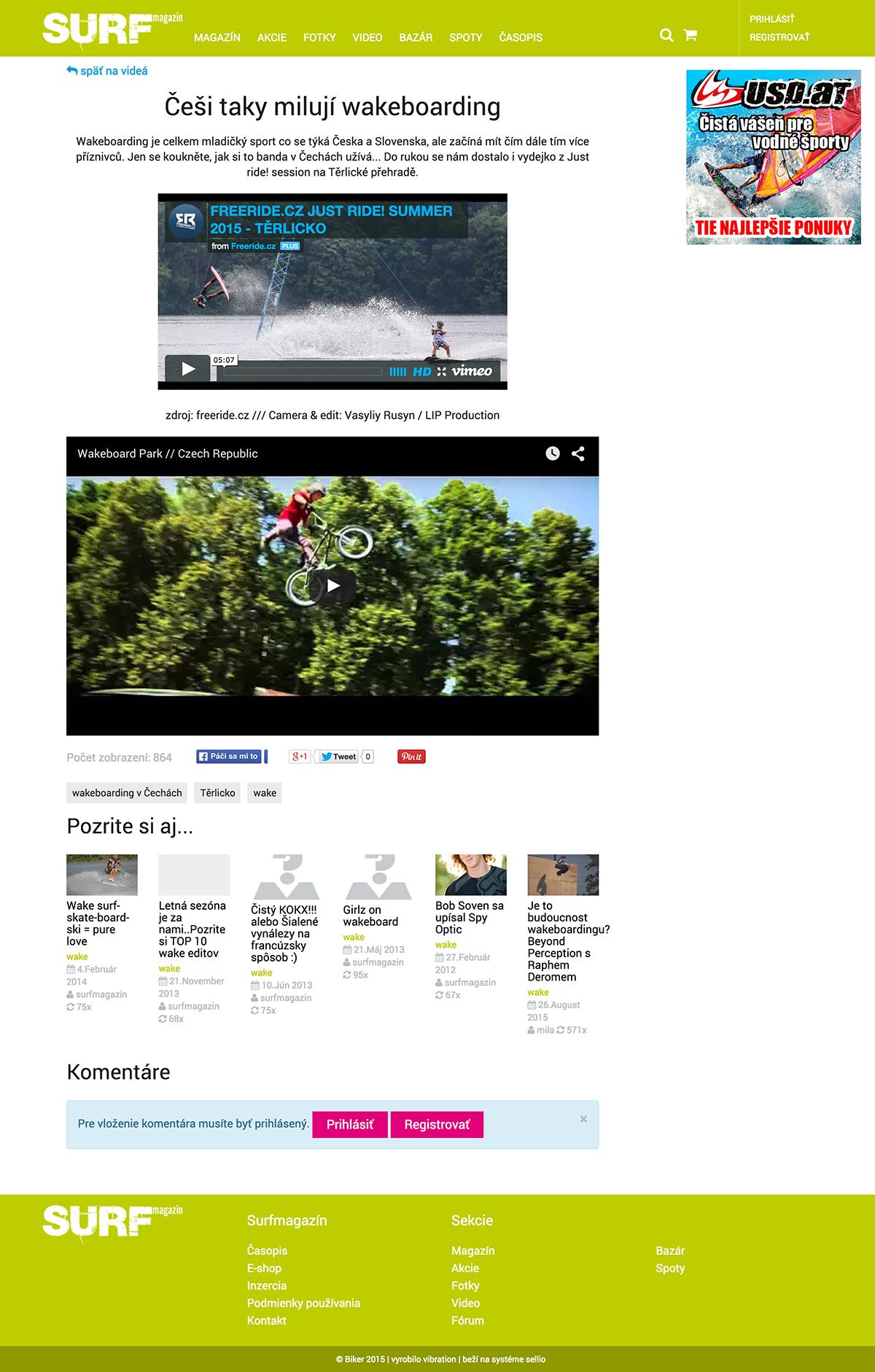Češi taky milují wakeboarding surfmagazin