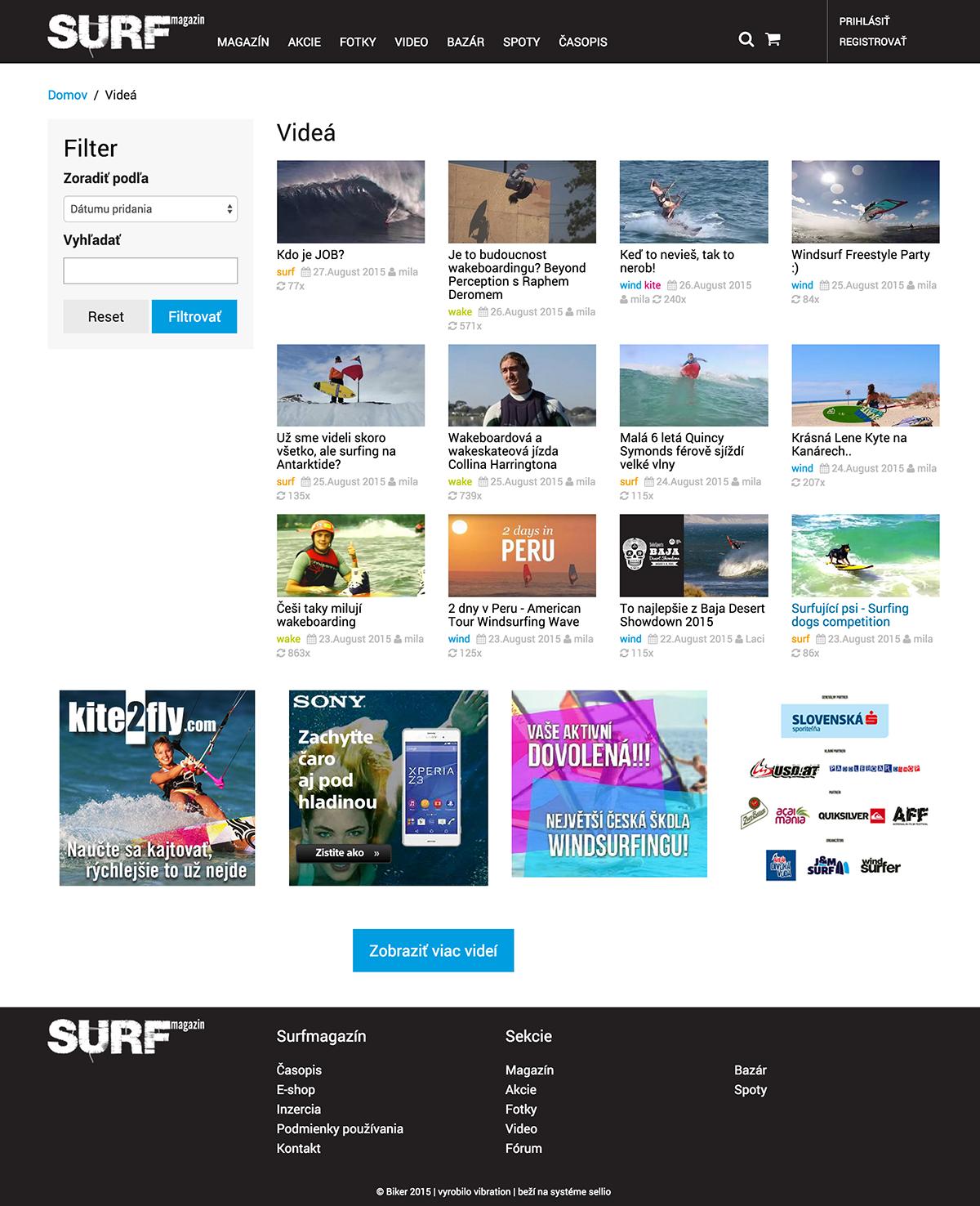 Videá surfmagazin