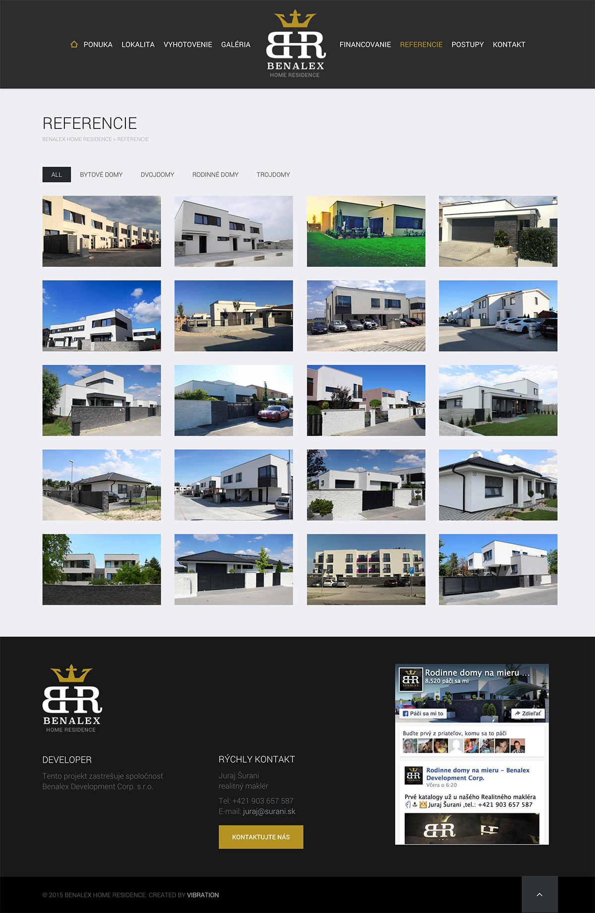 Referencie Benalex Home Residence