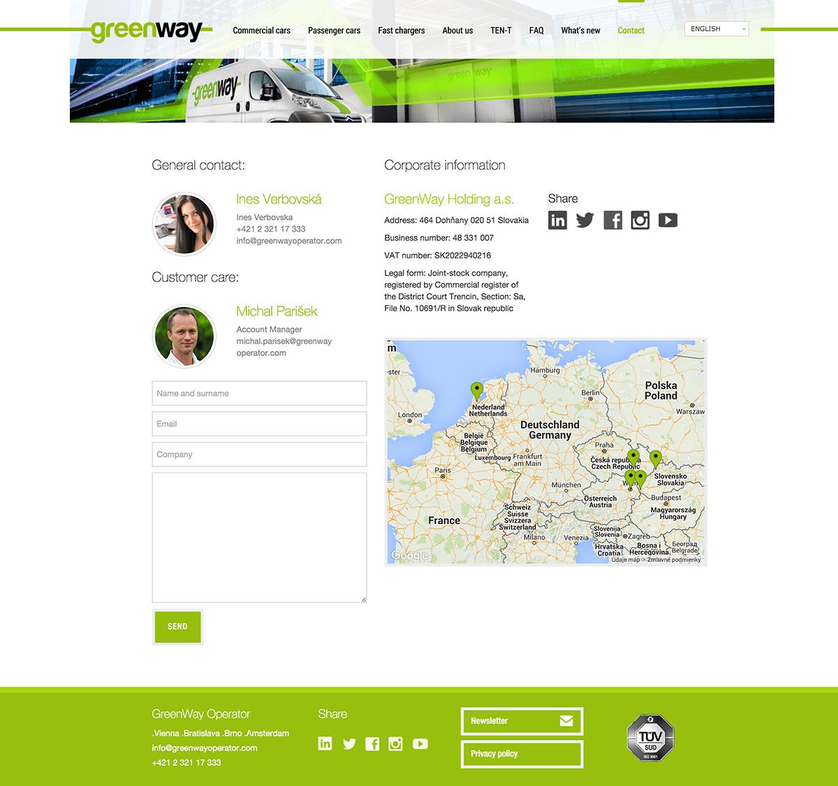 Contact Greenway