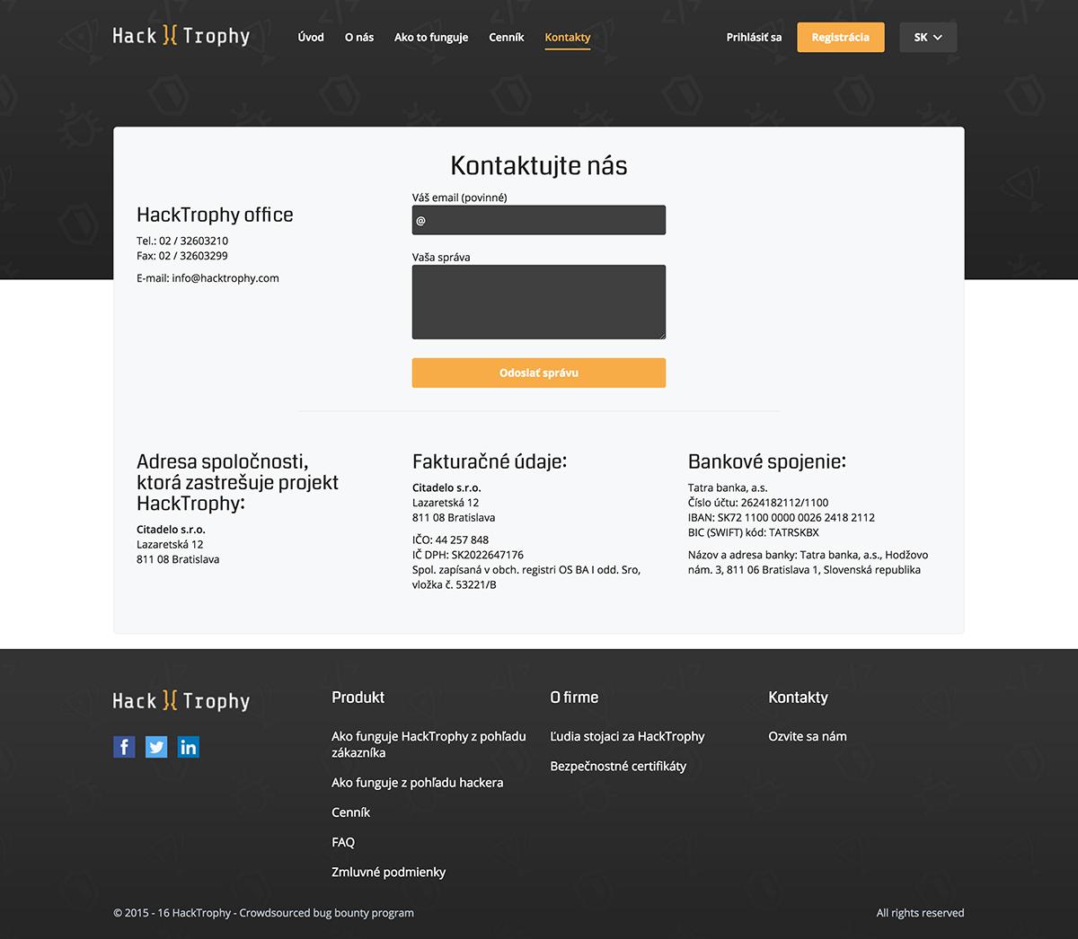Kontaktujte nás Hacktrophy.com copy