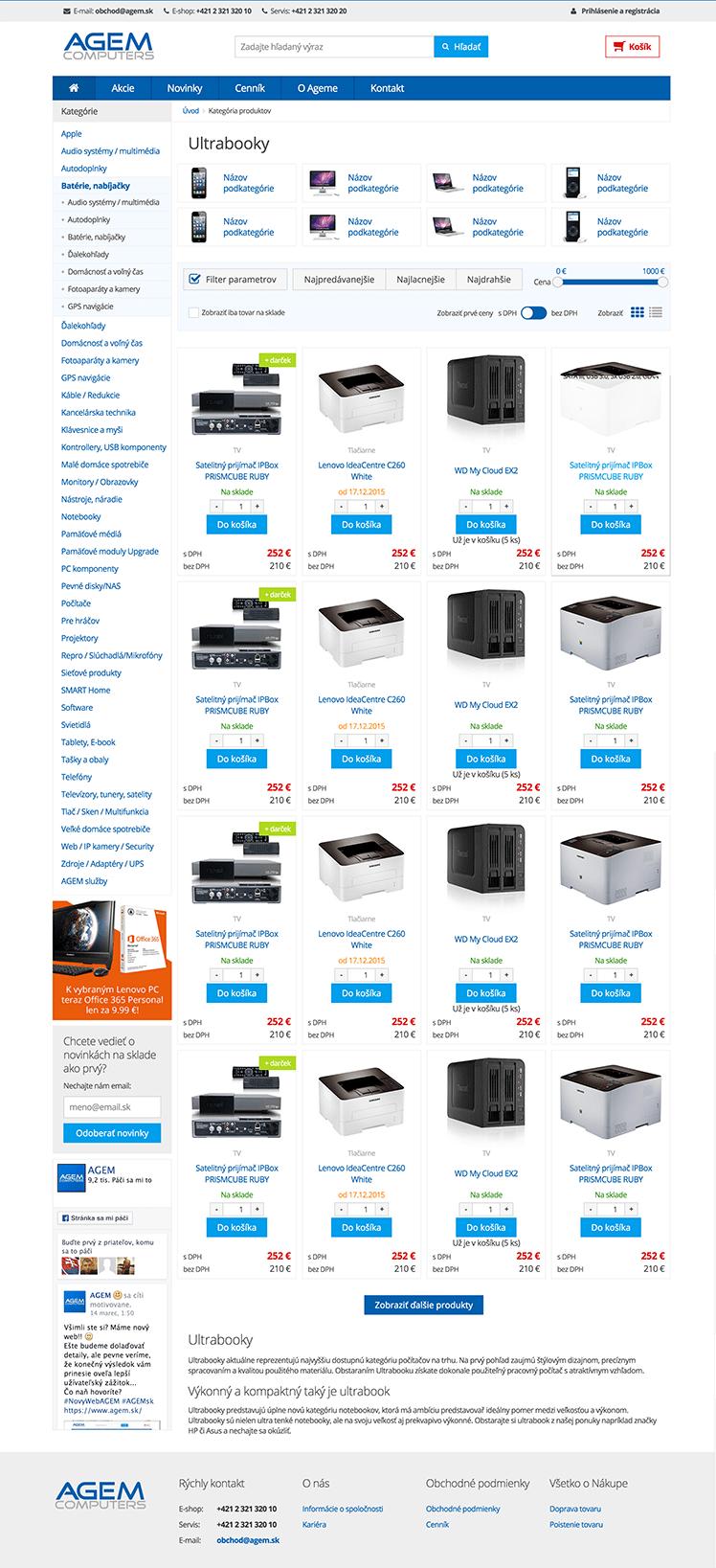 AGEM Computers ESHOP4