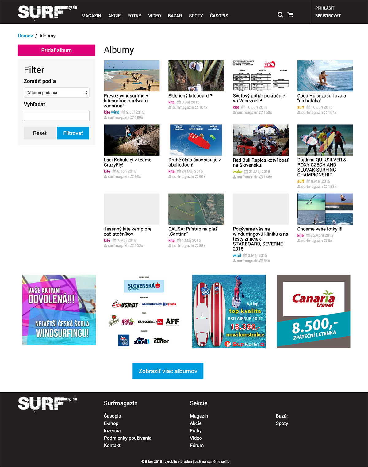 Albumy surfmagazin