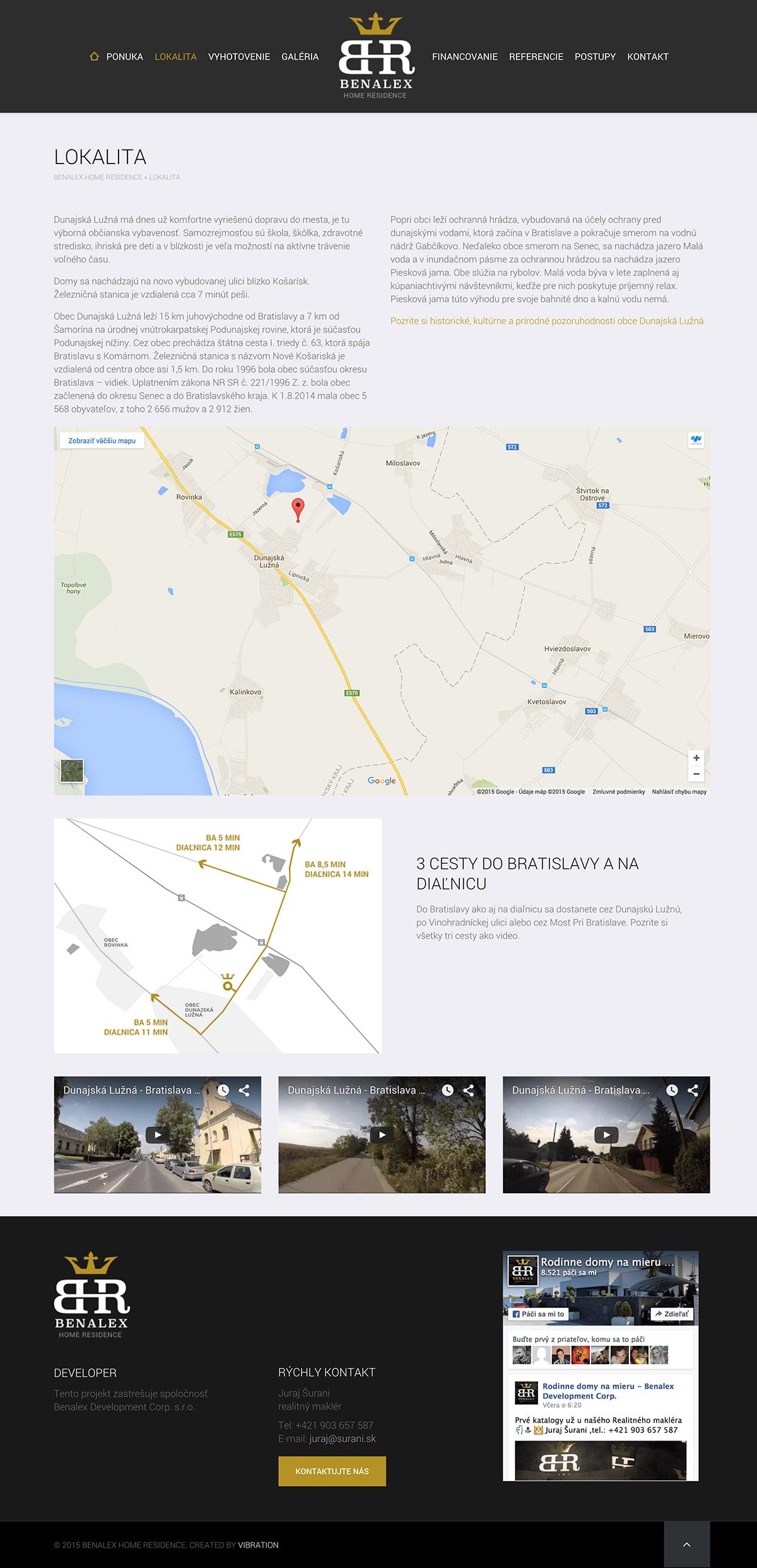 Lokalita Benalex Home Residence