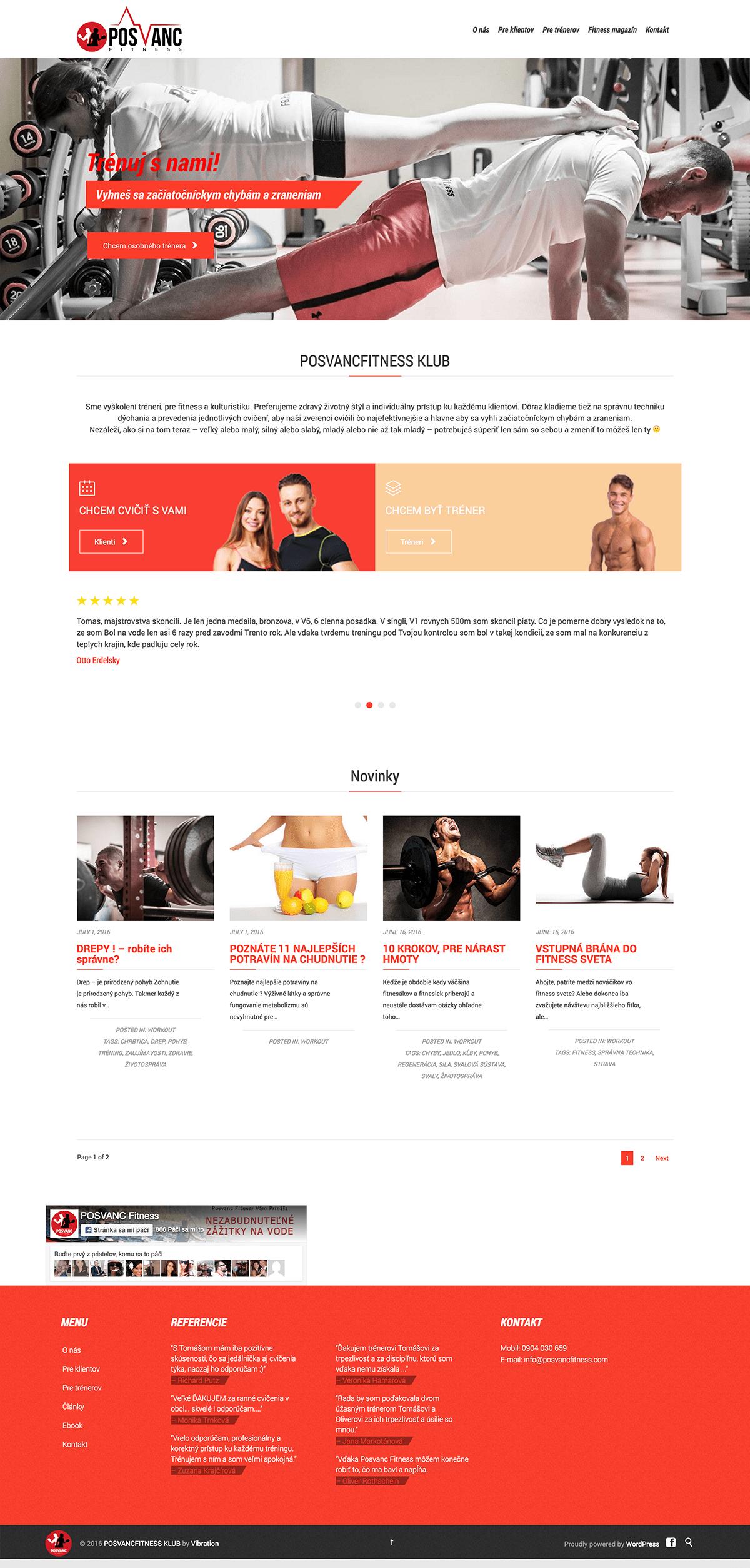 Posvancfitness.com – Osobný fitness tréner v Bratislave copy