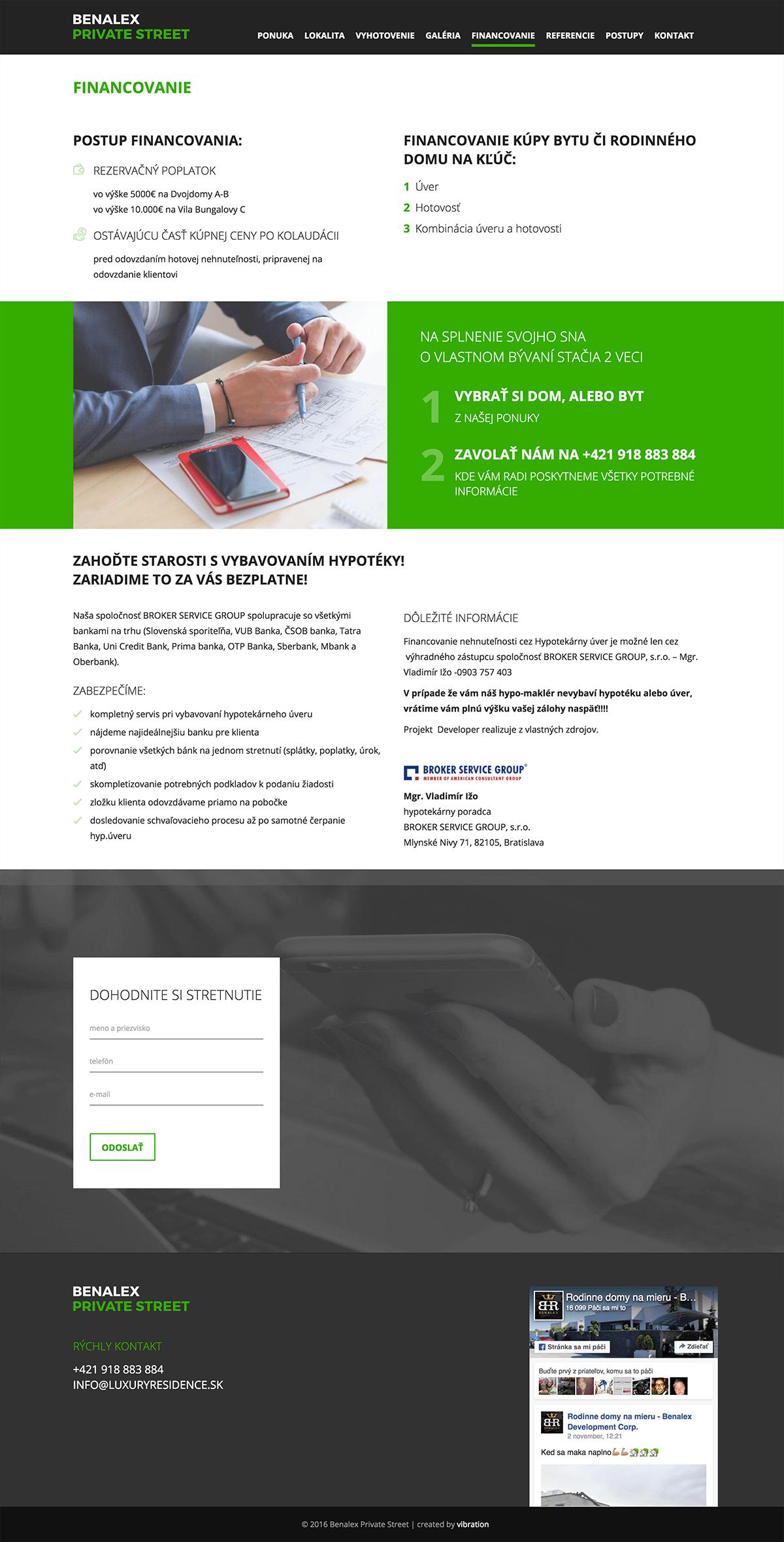 benalexprivatestreet-sk-financovanie